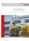 ROSON - Model 1,500 m - Cone Penetration Test Equipment (CPT) Brochure