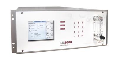 LDetek - Model LD8000 - Online Multi-Gas Analysers