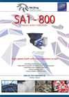 Model SA1- 800 - Single Shaft Shredder - Brochure