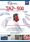 SA-Eng - Model SA2 - 500 - Two Shaft Shredder - Brochure
