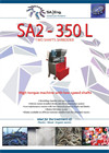 SA-Eng - Model SA2 - 350 L - Two Shaft Shredder - Brochure