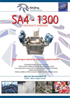 SA-Eng - Model SA4 - 1300 - Four Shaft Shredder - Brochure