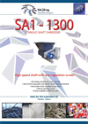 SA-Eng - Model SA1 - 1300 - Single Shaft Shredder - Brochure