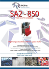 SA-Eng - Model SA2 - 850 - Two Shaft Shredder - Brochure