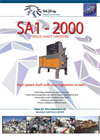 SA-Eng - Model SA1 - 2000 - Single Shaft Shredder - Brochure