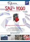 SA-Eng - Model SA2 - 1000 - Two Shaft Shredder - Brochure