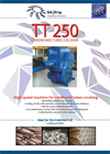SA Eng. - Model TT250 - Cardboard Tubes Crusher - Brochure