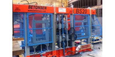 Betonsen - Model BS20 - Concrete Paver and Block Making Machine