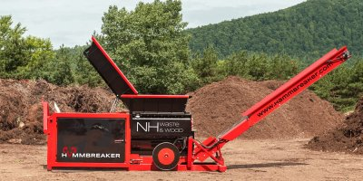 Hammbreaker - Model NH Waste&Wood - Two Shaft Industrial Shredder
