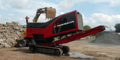 Hammbreaker - Model NH Metal&Stone - Shredding Machine