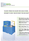 Solvent Recycler Specification Sheets