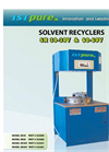 ISTpure - Model SR60-60V - Solvent Recyclers - Manual
