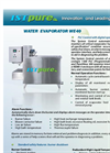 ISTpure - Model WE-40 - Water Evaporator - DataSheet