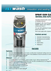 ISTpure - Model GWMA - Spray Gun Cleaners - Brochure