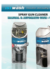 ISTpure - Model GWM & GWMA - Spray Gun Cleaners - Manual