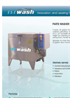 ISTpure - Model PW30 - 30 Gallon Front Loading Spray Wash Cabinet - Brochure