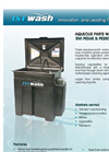 ISTpure - Model EWI PE245 & 250 Series - Aqueous Parts Washer - Brochure