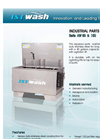 ISTwash - Model AW 80 & 150 Series - Top-loading Spray Wash Systems - Brochure