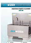 ISTwash - Model AW 80 & 150 Series - Top-loading Spray Wash Systems - Manual