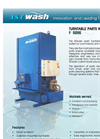 ISTwash - Model F Series - Turntable Parts Washer - Brochure