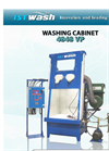 ISTwash - Model M4848 VP - Water Washing Cabinet - Manual