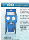ISTwash - Model M2424VP to M4860VP - Aqueous Parts Washer - Brochure