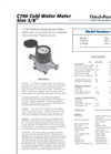 Cold Water Meters Brochure