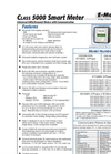Class - Model 5000 - Smart Meter with Dual Protocol Communications Brochure