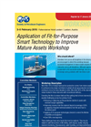 SPE Application of Fit-for-Purpose Smart Technology to Improve Mature Assets Workshop - Brochure