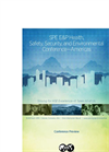 SPE E&P Health, Safety, Security and Environmental Conference 2015 - Brochure