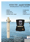 SAIV - Model STD/CTD - SD204 - Sensors Brochure