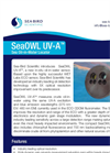 SeaOWL UV-A (Sea Oil-in-Water Locator) Datasheet