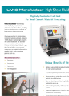 Model LM10 - Digitally Controlled Lab Unit- Brochure