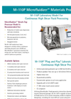 Model M-110P - Electric Benchtop Laboratory Homogenizer Brochure