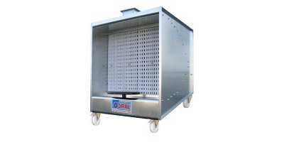 MINISPRAY - Trolley Mounted Dry Painting Booths