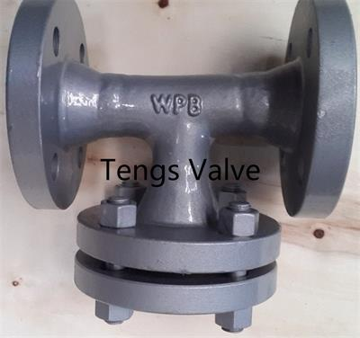 Tengs Valve - Model ST - Fabricated Tee Type Strainer