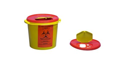 Model TA1012  - 10 lt Biohazard Waste Container