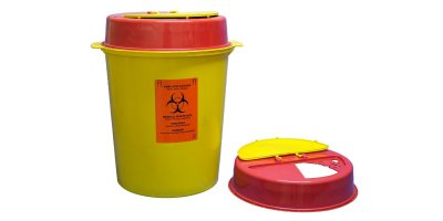 Model TA1013  - 27-30 lt Biohazard Waste Container