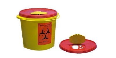 Model TA1011 - 5 lt Biohazard Waste Container
