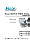 ToughSonic - Model CHEM 10 - Chemically Resistant Ultrasonic Sensor - Manual