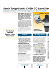 ToughSonic - Model CHEM 20 - Chemically Resistant Ultrasonic Sensor- Brochure
