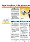 ToughSonic - Model CHEM 35 - Chemically Resistant Ultrasonic Sensor Brochure