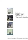 Universal Thermal Desorption Unit - Brochure