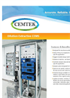 Cemtek - Model CEMS - Dilution Extractive - Datasheet