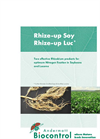 Rhize-up Soy - Bacterial Bioinoculant - Brochure