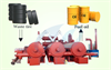 Fully automatic continuous plastic and tyre to diesel plant