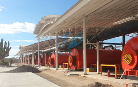 Doing - 6T 8T 10T - Waste tyre oil plant by Henan DOING