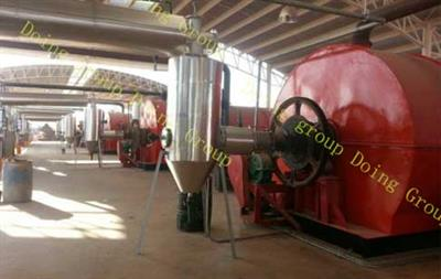 Doing - Model 6T 8T 10T - Waste tyre oil plant