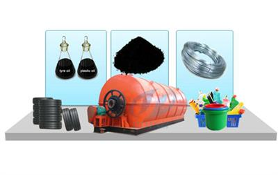 DY - DY - Plastic to oil process machine by Henan DOING Renewable