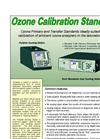Ozone Standards Products Brochure